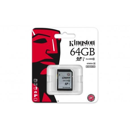 64GB SDXC Class10 UHS-I 45MB/s Read Flash Card