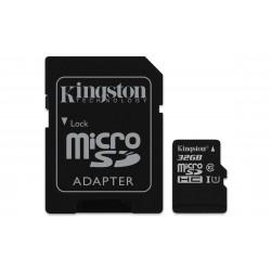 32GB microSDHC Class 10  Read Card + SD Adapter