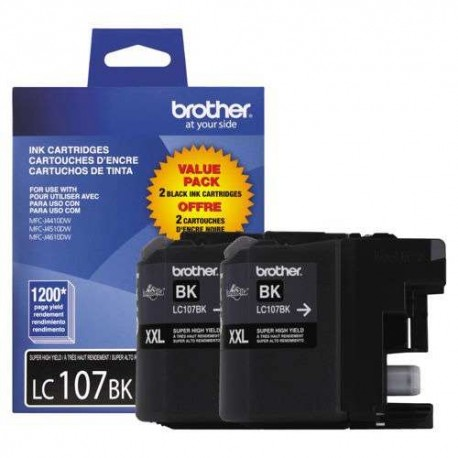 CARTRIDGE BROTHER LC107BK 4410/4510/4610/ 1200 PGS