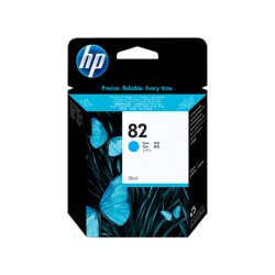 HP 82 28-ml Cyan Cartridge Plotter