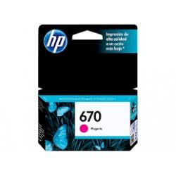 HP 670 CZ115AL Magenta Ink Cartridge