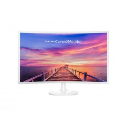 "Monitor Samsung curvo LED 32"" Blanco"