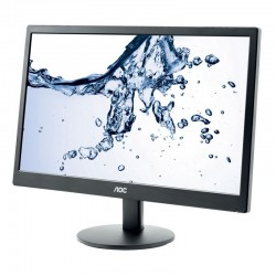 MONITOR AOC 21.5 NEGRO LED WIDE HDMI y VGA