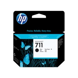 HP 711 Black Ink Cartridge (80 ml)