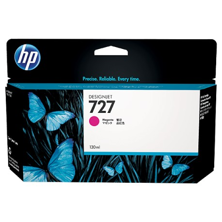 HP 130-ml Magenta Designjet Ink Cartridge